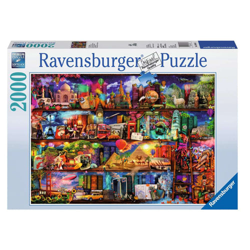 Ravensburger World Of Books 2000 Piece Puzzle