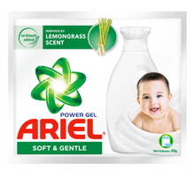 Load image into Gallery viewer, Ariel Liquid Detergent Soft & Gentle (Assorted Sizes)