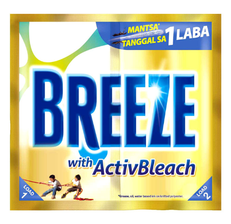 Breeze Laundry Detergent Active Bleach (Assorted Sizes)
