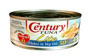 Century Tuna Flakes 180g (Assorted Flavors)