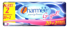 Load image into Gallery viewer, Charmee Pantyliner Go Girl (Assorted Sizes)