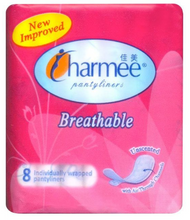 Load image into Gallery viewer, Charmee Pantyliner Unscented (Assorted Sizes)