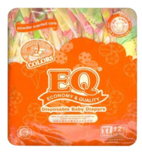 Load image into Gallery viewer, EQ Colors Baby Diaper Budget Pack (Assorted Sizes & Pieces)