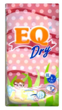 Load image into Gallery viewer, EQ Dry Baby Diapers Mini Pack (Assorted Sizes & Pieces)