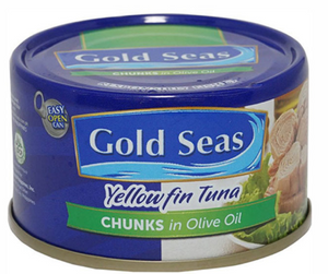 Gold Seas Tuna Chunks Olive Oil (Assorted Sizes)