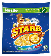 Load image into Gallery viewer, Nestle Honey Stars Cereal (Assorted Sizes)