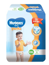 Load image into Gallery viewer, Huggies Dry Diapers Pants (Assorted Sizes and Pieces)