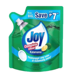 Joy Dishwashing Liquid Kalamansi (Assorted Sizes)