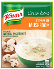 Load image into Gallery viewer, Knorr Cream Soup 70g (Assorted Flavors)