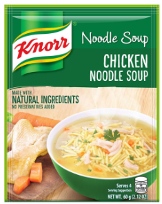 Knorr Noodle Soup 60g (Assorted Flavors)