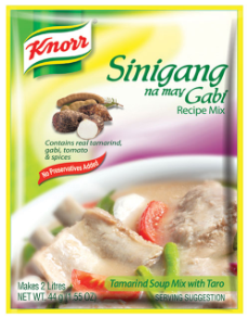 Knorr Sinigang Sa Gabi Recipe Mix (Assorted Sizes)