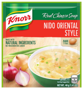Knorr Soup Nido Oriental (Assorted Sizes)