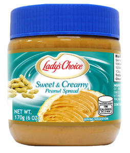 Lady's Choice Peanut Butter Sweet and Creamy (Assorted Sizes)