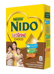 Nido Fortigrow Full Cream Powdered Milk Chocolate