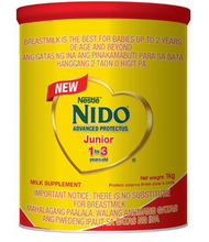 Load image into Gallery viewer, Nido Junior Powdered Milk Drink (Assorted Sizes)