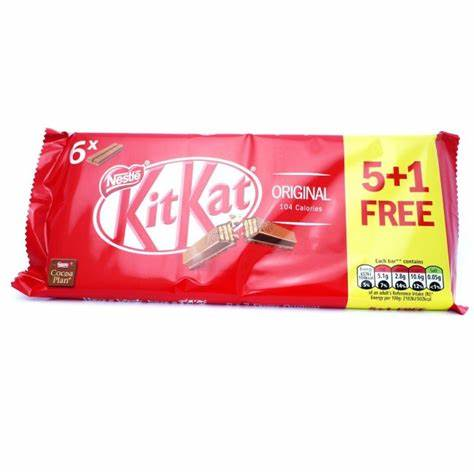 Kitkat Original Chocolate 6pack
