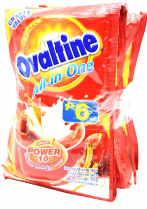 Ovaltine All In One (Assorted Sizes)