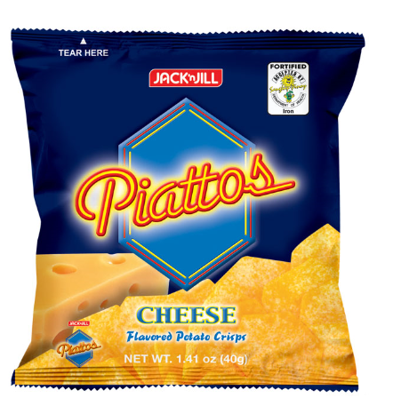 Jack'N Jill Piattos Cheese (Assorted Sizes)