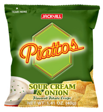 Load image into Gallery viewer, Jack'N Jill Piattos Sour Cream & Onion (Assorted Sizes)