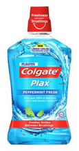Load image into Gallery viewer, Colgate Plax Peppermint Fresh Mouthwash (Various Sizes)