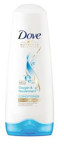 Dove Hair Conditioner Nutritive Solutions Oxygen and Nourishment (Various Sizes)