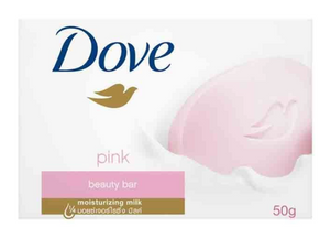 Dove Bar Soap Pink Beauty (Various Sizes)