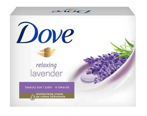 Dove Beauty Bar Soap Relaxing Lavender Scent 113g