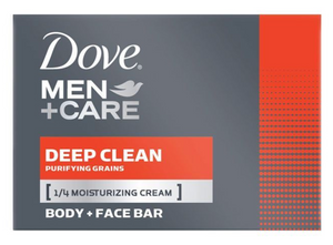 Dove Men Bath Soap Deep Clean