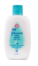 Load image into Gallery viewer, Johnson's Baby Lotion Milk and Rice (Various Sizes)