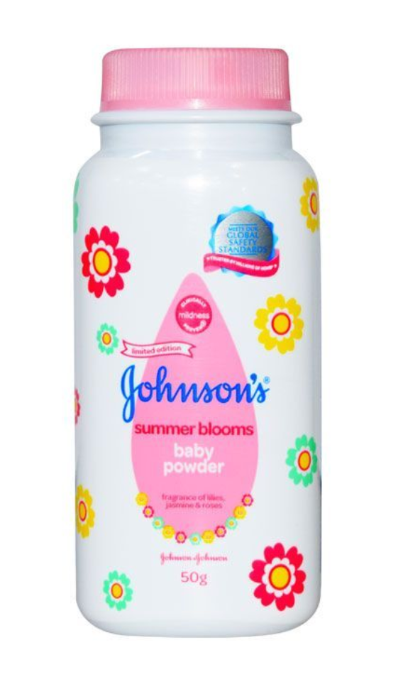 Johnson's Baby Powder Summer Blooms 50g