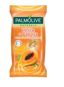 Palmolive Naturals White Papaya Body Soap Bar Soap 55g