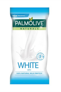 Palmolive Naturals White with 100% Natural Milk Protein Body Soap Bar Soap 55g