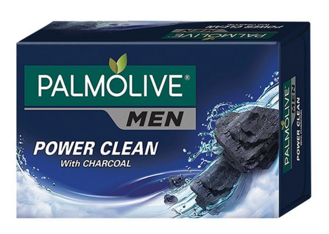Palmolive Men Power Clean with Charcoal Body Soap Bar Soap 115g