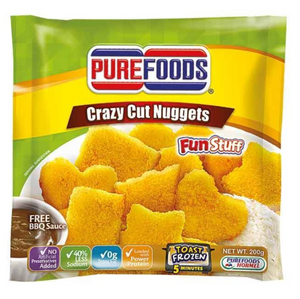 Purefoods Crazy Cut Chicken Nuggets with Barbecue Sauce