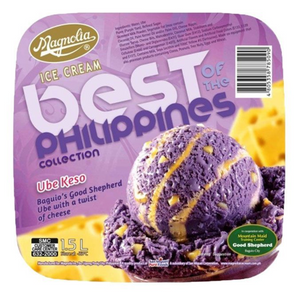 Magnolia Best of the Philippines Ice cream Ube Keso 1.5L