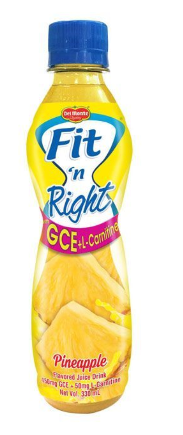 Del Monte Fit and Right Pineapple Juice