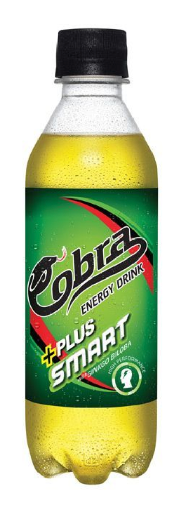 Cobra Plus Smart with Gingko Biloba High Performance Energy Drink 350ml