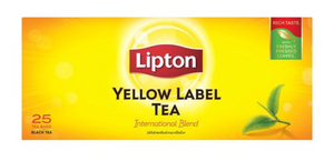 Lipton Yellow Label Tea (Black Tea) Tea Bags 2g x 25pcs