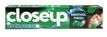 Load image into Gallery viewer, Close Up Menthol Chill Toothpaste Green (Various Sizes)