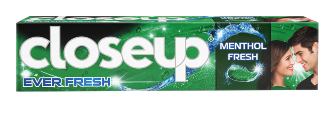 Close Up Menthol Chill Toothpaste Green (Various Sizes)