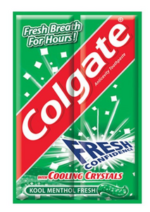 Colgate Menthol Fresh with Cooling Crystals (Various Sizes)