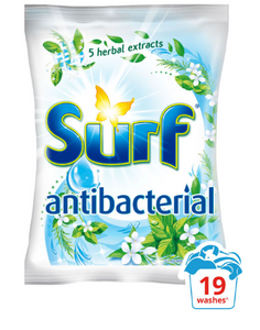 Surf Powdered Detergent Anti-Bac 1.1kg