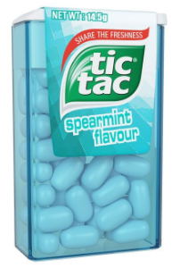 Tic Tac Spearmint Candy 14.5g
