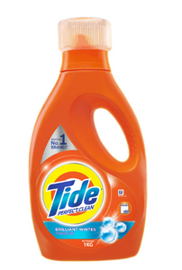 Tide Liquid Detergent Brilliant Whites (Assorted Sizes)