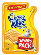 Load image into Gallery viewer, Cheez Whiz Easy Squeeze Cheese Spread (Assorted Sizes)