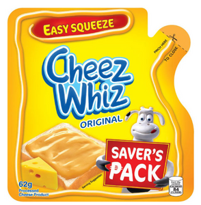 Cheez Whiz Easy Squeeze Cheese Spread (Assorted Sizes)