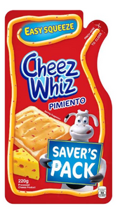 Cheez Whiz Cheese Pimiento Easy Squeeze Spread (Assorted Sizes)