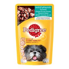 Pedigree chicken liver in gravy 130g