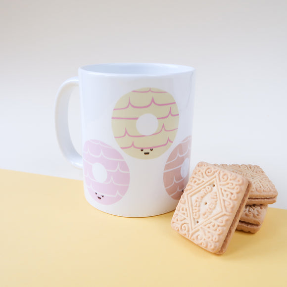 Party Rings - Classic Biscuit mug