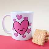 Cute Love Hearts Mug